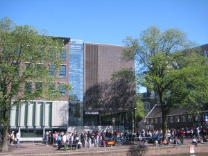 Anne Frank House... and its line
