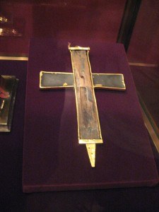 Piece of The Cross...complete with nail hole...
