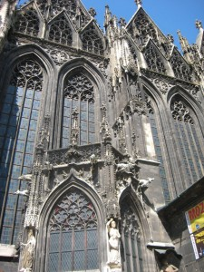 St. Stephen's Cathedral - built with Roman pagan temple stones...magnificant