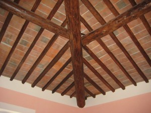 love the high ceilings and original open beams