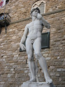 David...but only a replica as the real one is in a museum