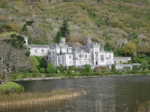 "Kylemore Abbey - a 19th century ""castle"" built by a very rich guy for his beloved wife.  For the last 100 years, it has been an elite boarding school, currently in its last year of instruction.  Transitioning to a tourist attraction."