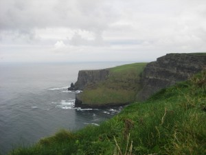 Cliffs of Moher - facing north