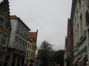 Random architecture in Bruges... and a crummy day