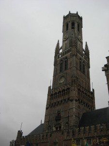 The Belfry Tower in Market Square