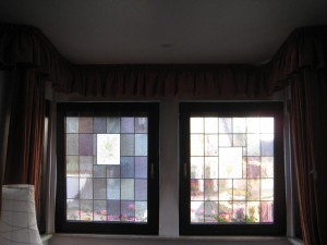 cute stain-glass windows