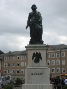Mozart town...they should just rename it already...