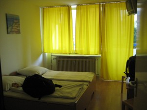 Ahhh... lovely yellow curtains...