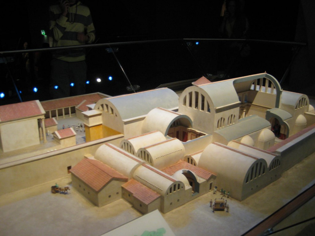 Model of Roman Baths