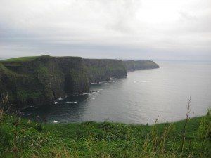 Cliffs of Moher - facing south